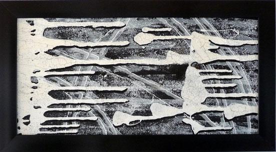 """""""la fuite"""" - 67X37 - 2010"""