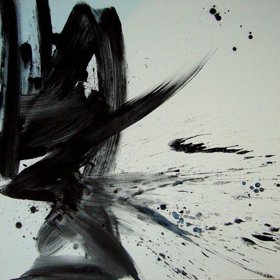 """""""bigger splash I"""" - 80X80 - 2013"""