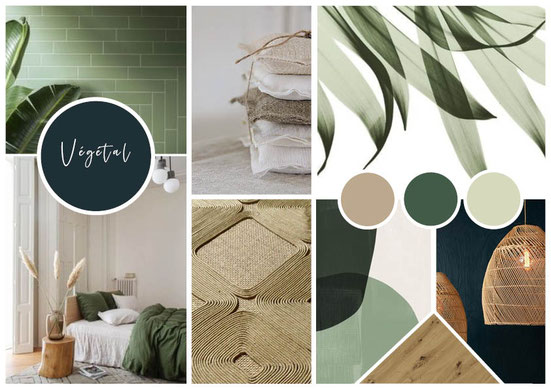 Moodboard, planche tendance, planche décoration