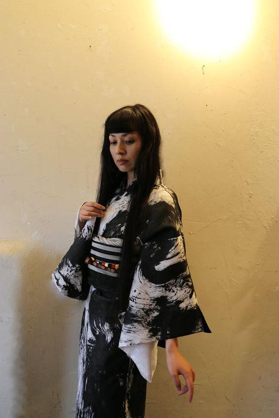 UGETSU KIMONO               model; aran