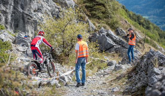 Schweizermeisterschaft Trial in Susten Oberwallis organisiert der TC Illgraben