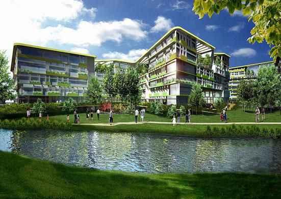 Bitarte Arquitectura + Comunicacion / Complejo residencial sostenible en Tashkent Uzbekistan / arquitectura bioclimatica/ www.bitartearquitectura.com