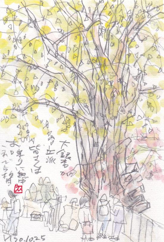 10月は屋外教室です。高松教室で大窪寺へ行きました。