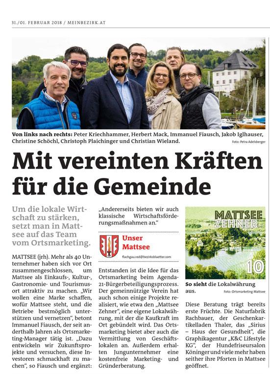 Bezirksblätter, Februar 2018
