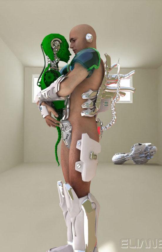 3D графика Элиан CK