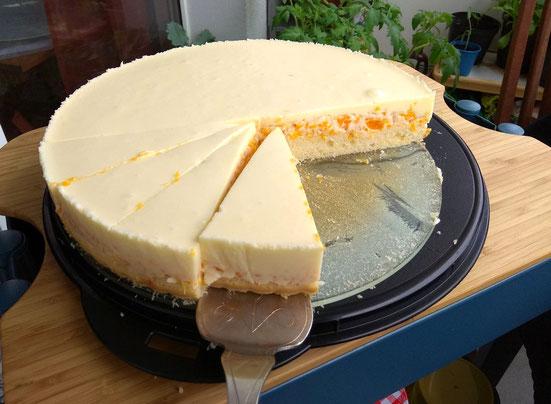 Ilmsens creamcheese cake with mandarins