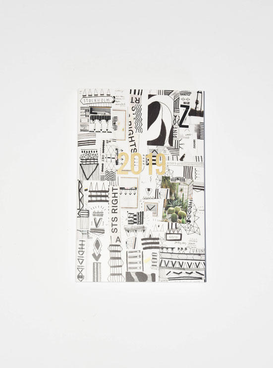 Yael Anders-PLANNER 2019: Made in Zürich: from the design to the printing & binding. A planner for all of those who still put worth on lasting memories in the digital age. With all the overview there's still lots of space for your own sketches, drawings.
