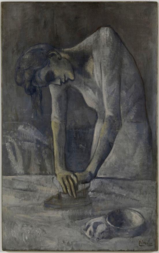 """Picasso, """"Donna che stira"""""""