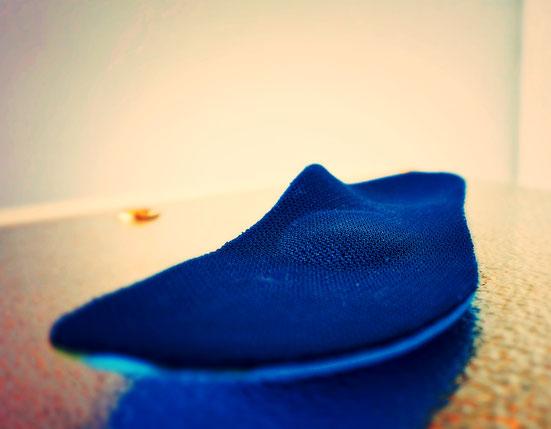 blaue Weichpolstereinlage