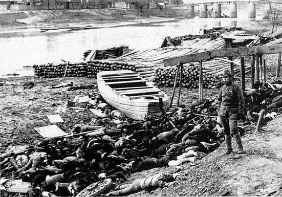 La guerre menée par l'empire du Japon contre la Chine entre 1937 et 1945 est également assimilée à une guerre d'extermination où plus de 20 millions de Chinois sont morts.  La Bible avait prophétisé de nombreuses guerres, et beaucoup de souffrance.
