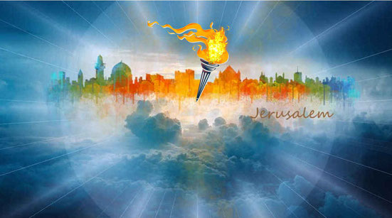 La ville n'a besoin ni du soleil ni de la lune pour l'éclairer, car la gloire de Dieu l'éclaire et l'Agneau est son flambeau. Jésus fait briller la lumière dans notre cœur faisant resplendir la connaissance de la gloire de Dieu.