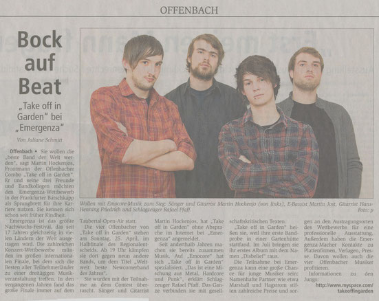Offenbach Post, 23.04.2010