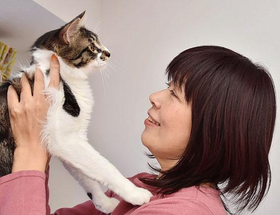 アニマルレイキメディスンヒーリング講座の感想イメージ いしかわ るみこと猫