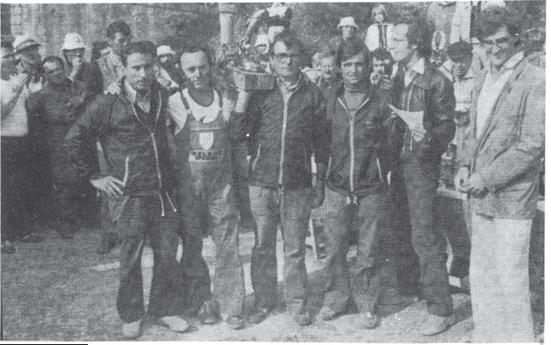 1980 TROFEO ECCELLENZA INTERZONE TROFEO MAVER PESCARE Squadra A Cannisti Castel Maggiore 1^ Classificata : VERONESI LINO - FRANCHINI FIORENZO BASSI DINO - MORISI LUCIANO
