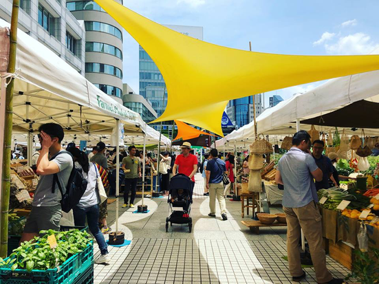 出典:Farmer's Market at UNU 公式Facebookページ