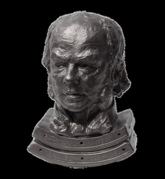 Buste en bronze d'Isambard Kingdom Brunel, sculpteur Langloÿs