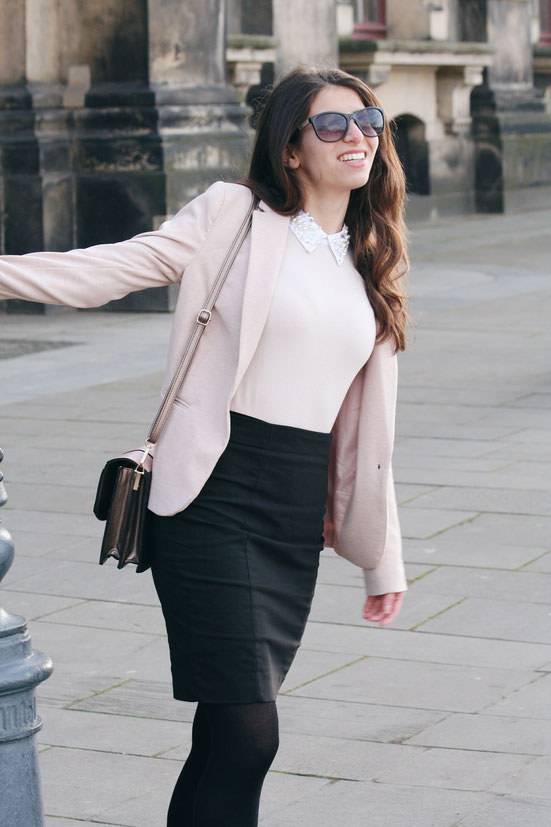 Blazer & Skirt Rosé, Orsay, Carmen Schubert
