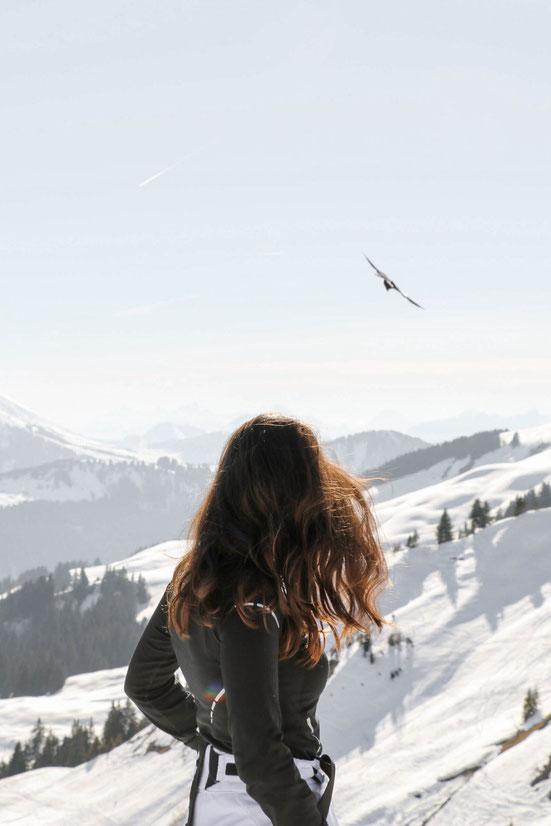 by Carmen Schubert Ski Mountains Alps France