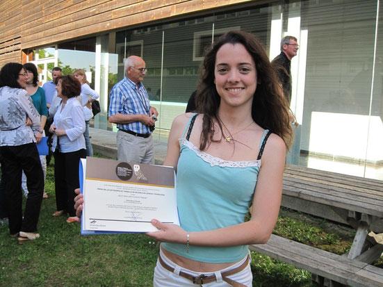 Erika Gomez premi Universitat de Girona