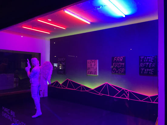 Marc Bijl, Digital Nights, Bark Berlin Gallery, kunstStory.de