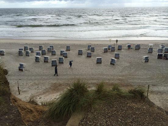 Westerland.haus - Strand bei Kampen
