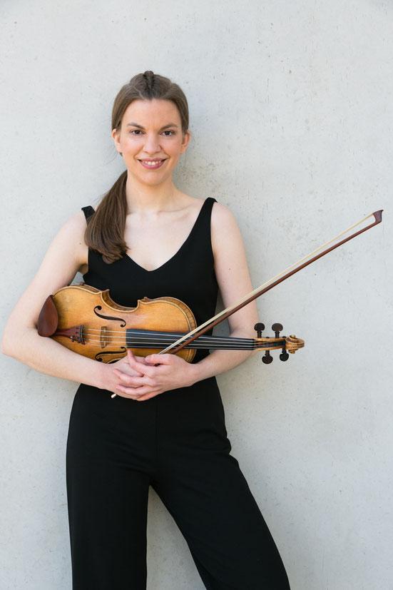 Anja Gaettens - Violine + Alexander-Technik für Musiker