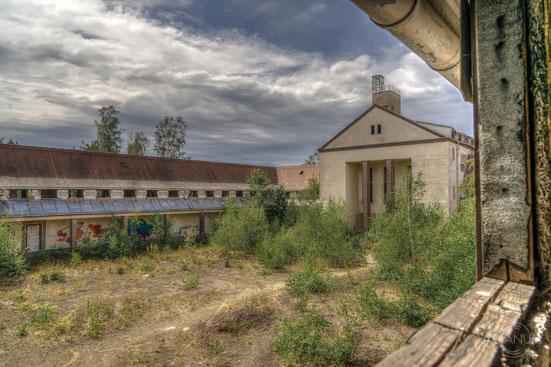 Abandoned Railway Repair Factory in Germany