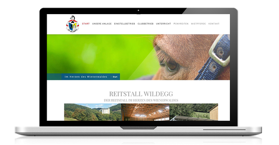 reitstall webseite website4everyone