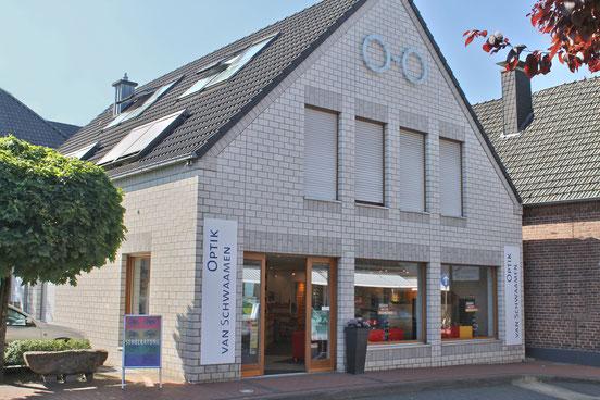 Geschäftshaus van Schwaamen Frontansicht