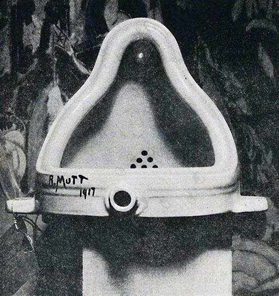 マルセル・デュシャン「泉」(1917年)
