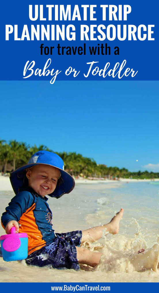 Now that you are travelling with a baby & you have less time to plan trips, we created this resources page to share our process with you to make your trip planning easier. #travelwithbaby #toddlertravel #familytravel #baby #toddler #traveltips