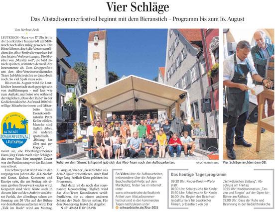 Quelle: Schwäbische Zeitung, 06.08.2015