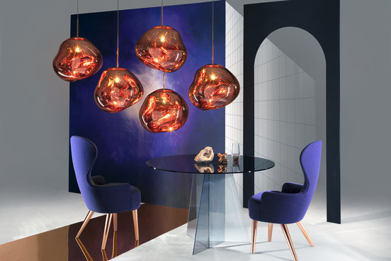 suspension MELT tom dixon eclat luminaire