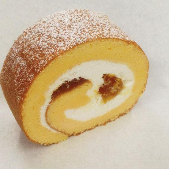 福井梅 福太夫 福井産米粉 完熟梅のロールケーキ 夏限定