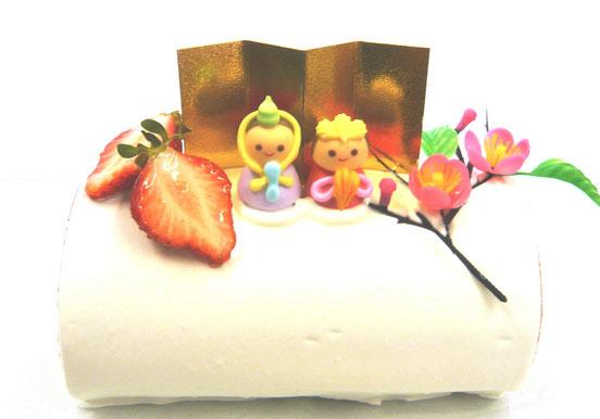 ひなまつり ひな祭り 雛祭り ひな祭りケーキ ひな祭りロール