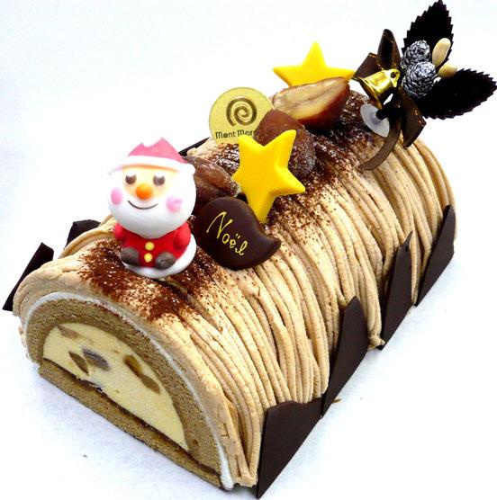 モンブラン ノエルモンブラン モンブランのクリスマスケーキ 栗のクリスマスケーキ