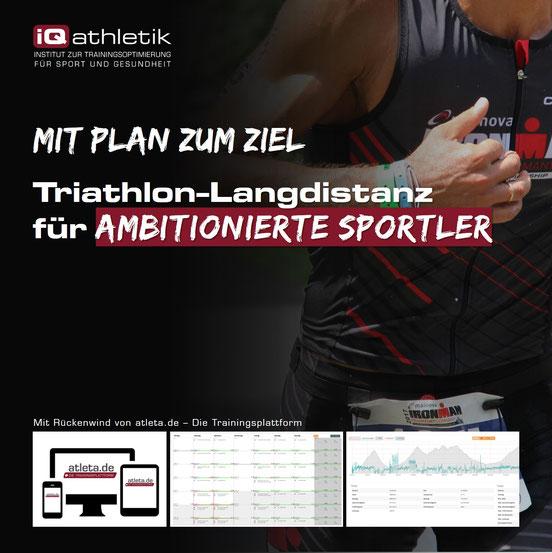 Trainingsplan Triathlon-Langdistanz (Ironman)
