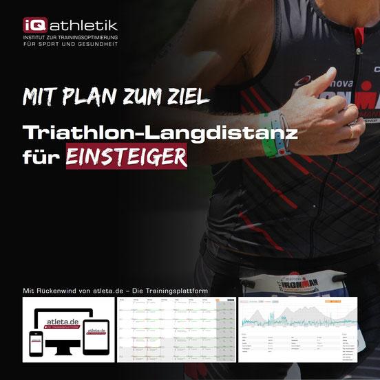 Trainingsplan Triathlon-Langdistanz (Ironman) für Einsteiger