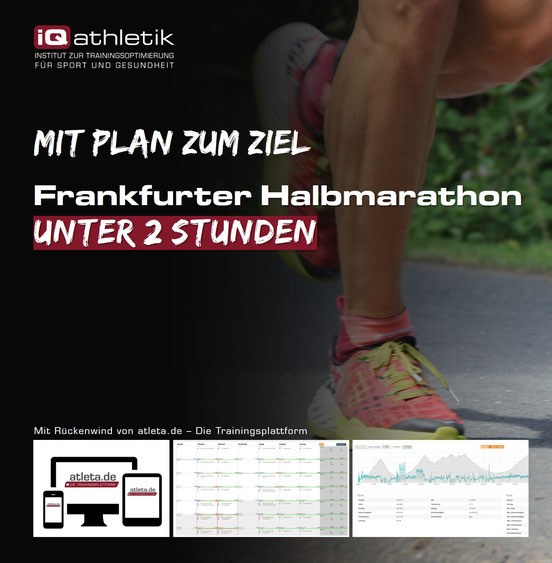 Trainingsplan Frankfurter Halbmarathon unter 2 Stunden