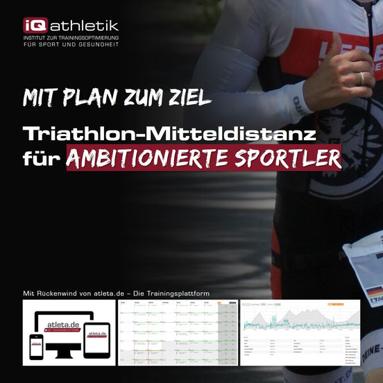 Trainingsplan Triathlon-Mitteldistanz (Ironman)