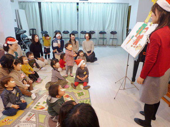 幼児教室クリスマス・パネルシアター