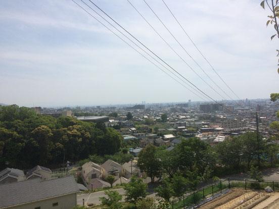 善根寺町周辺(筆者撮影)