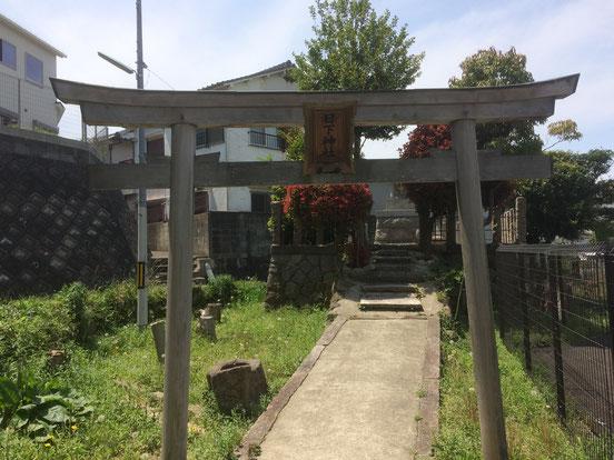 日下神社(筆者撮影)