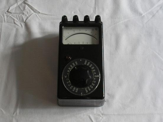EAW Elektr. Werk Treptow DDR  Universal Multimeter Gleichstrom  von 1950