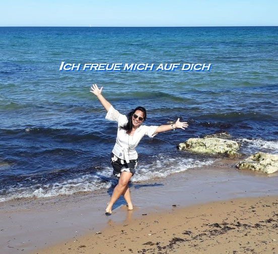 Kerstin Mais am Strand
