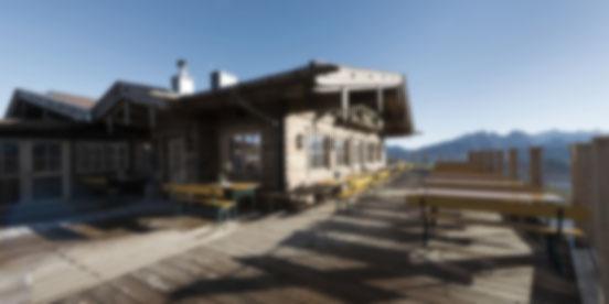 kechtalm lofer almenwelt lofer restaurant berg alpen hottelerie & gewerbe - holzbau herbst  | unken | salzburg
