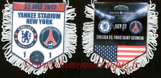 Fanion  Chelsea-PSG  2012-13