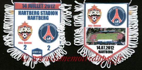 Fanion  CSKA Moscou-PSG  2012-13