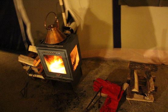 CAMP on PARADE グランドツアー 暖炉