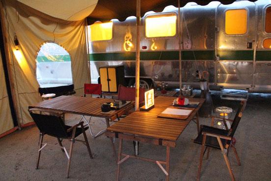 グランピング エアストリーム CAMP on PARADE